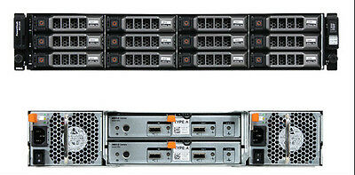 Dell PowerVault MD1200 12 x 3TB 7.2k 6GBps NL SAS - Dual Controller 36TB Storage