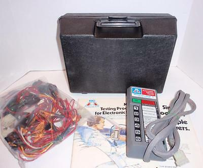 APC (GP) Electronic Ignition Tester Master Kit w/Case, Adapters & Books - EUC