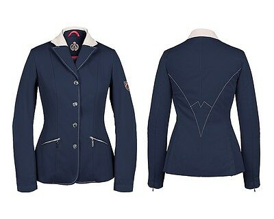 New Season!! Fair Play Olimpia Ladies Competition Jacket In Navy