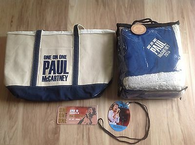 Paul-McCartney-One-on-One-Tour-VIP-Merchandise-Swag-Vancouver BC