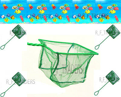 Professional Goldfish Fish Net Cold Water Tropical Catch Net Aquarium Bowls Pond