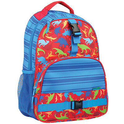 Stephen Joseph Boys All Over Print Dinosaur Backpack -School  Bags for Kids