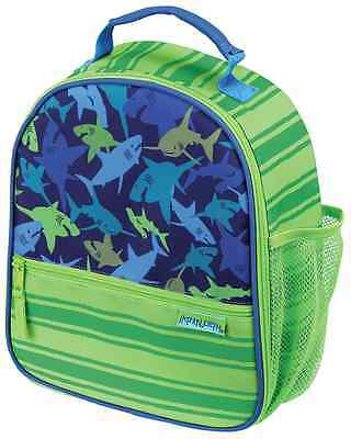 Stephen Joseph Boys All Over Print Shark School Lunch Box for Kids