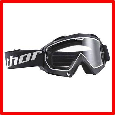 New Thor Enemy+ Motocross Goggles Youth Black