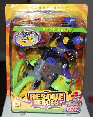 Rescue Heroes Kenny Ride  (Body Force 78308) Very First Release