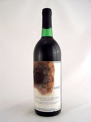1987 GENDERS McLAREN VALE The Adelaide Club Cabernet A Isle of Wine