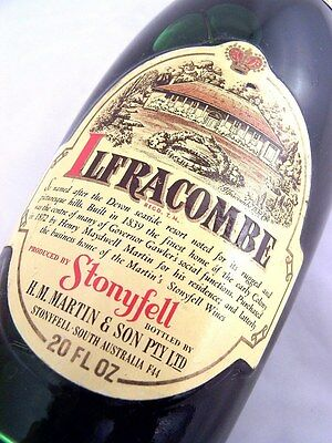 1969 STONYFELL Ilfracombe Light Red Blend B Isle of Wine