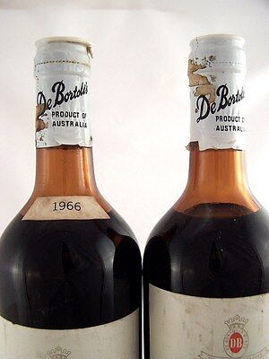 1966 de BORTOLI Private Stock Claret Red Blend x 2 FREE SHIP Isleofwine