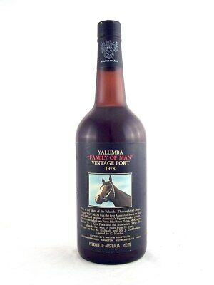 1978 YALUMBA Family of Man Vintage Port FREE SHIP Isleofwine