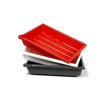 5x7 (13x18cm) Set of 3 Developing Dishes / Trays with Bonus Tongs!