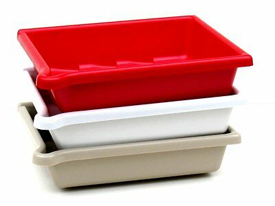 10x12 (25x30cm) Set of 3 Developing Dishes / Trays with Bonus Tongs!