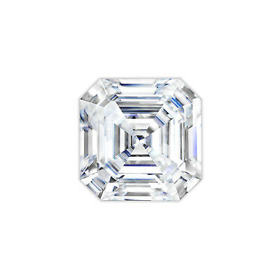 Charles & Colvard® Original Forever One™ Moissanite Asscher Cut Loose Stone