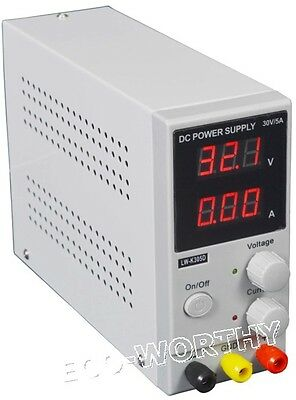 Adjustable Variable Digital Switching DC Power Supply Cooling 0-30V 0-5A