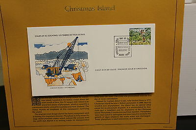 First Day Covers = CHRISTMAS ISLAND