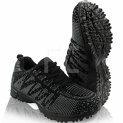 New Girls Boys Childrens Lace Up Sports School Trainers Pumps Shoes Casual Size