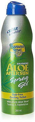 Banana Boat Aloe Vera After Sun Spray Gel 230g NEW
