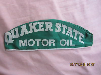 Quaker State Motor Oil gas station attendant cap ( Medium size)
