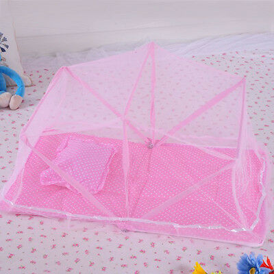 Hot Toddler Crib Mosquito Net Portable Baby Cot Tent Nursery Cradle Bed Canopy