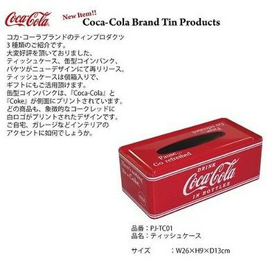 Coca-Cola Can Tissue Case New Japan
