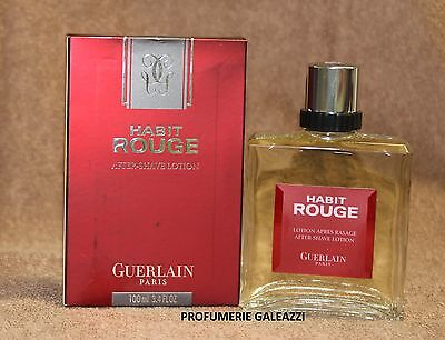 GUERLAIN HABIT ROUGE AFTER-SHAVE LOTION - 100 ml