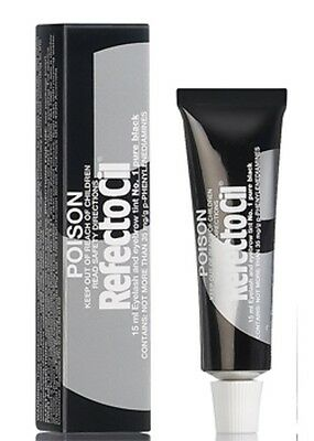 Refectocil Eyelash & Eyebrow tint - No.1 Pure Black -  Free Post from AUS