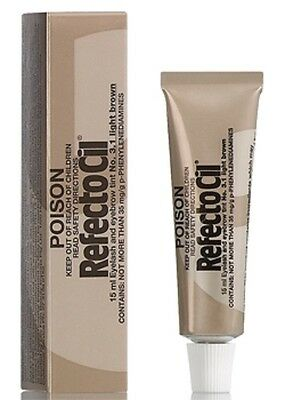 Refectocil Eyelash & Eyebrow tint - No.3.1 Light Brown 15ml-  Free Post from AUS