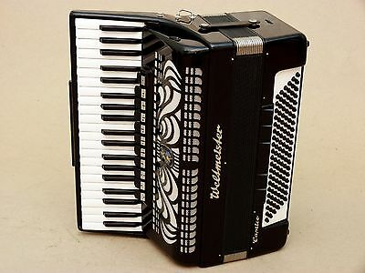Excellent Accordion Weltmeister CAPRICE 120 bass Including Case