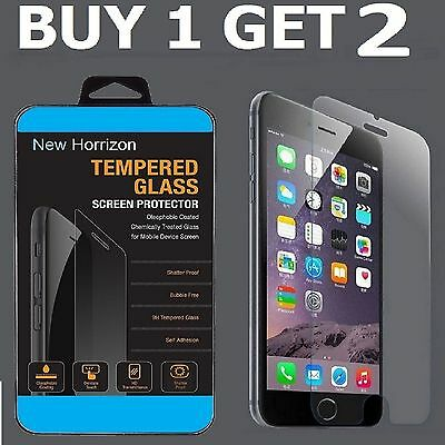 100% Genuine Tempered Glass Screen Protector Protection For Apple iPhone 7 -NEW