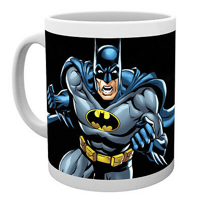 Official Licensed Product Batman Ceramic Mug Cup Tea Black Gift Box Coffee New