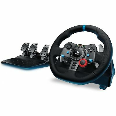 Logitech Driving Force G29 Racing Steering Wheel & Pedals for PC PlayStation 3/4