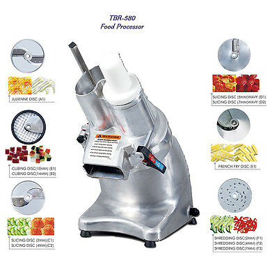 NEW Thunderbird TBR-580 1/2 HP Commercial Food Processor Deluxe Model