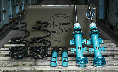 5 Forty Van Slam Adjustable Coilover Suspension Kit Weight Rated 40 - 70Mm