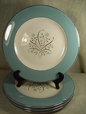Syracuse China Meadow Breeze Dinner Plates Set of 4
