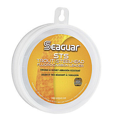SEAGUAR STS FLUOROCARBON LEADER FISHING LINE 100 YARDS select lb. test