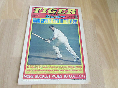 TIGER & Scorcher Comic LEICESTER City FOOTBALL Team Picture 06/03/76