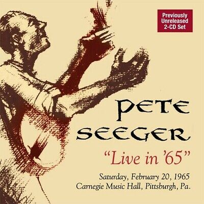 Live In 65 - 2 DISC SET - Pete Seeger (2009, CD NEUF)