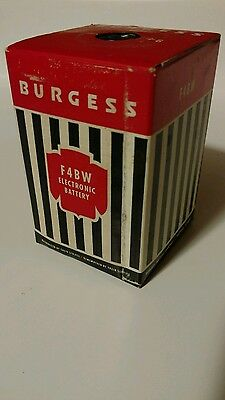 Burgess F4BW 6 volt battery • CAD $25.08