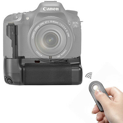 Neewer Replacement Battery Grip For Canon EOS 7D BG-E7 SLR Camera