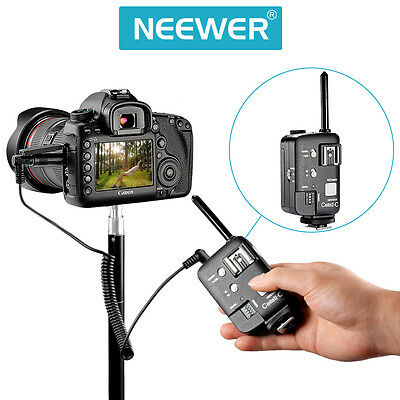 Neewer CellsII-C Studio Flash Strobe Trigger Transimitter Receiver for Canon EOS