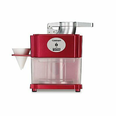Cuisinart SCM-10 Snow Cone Maker - Red
