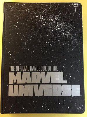 Official Handbook Of The Marvel Universe Binder + Loose Pages + Covers 17-26