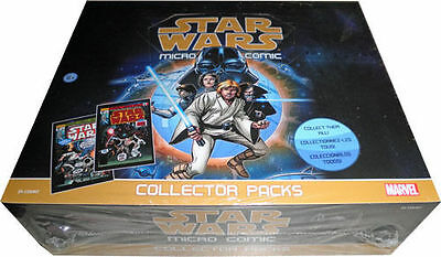 Star Wars Micro Comic New Factory Sealed Box Of 24 Collector Packs