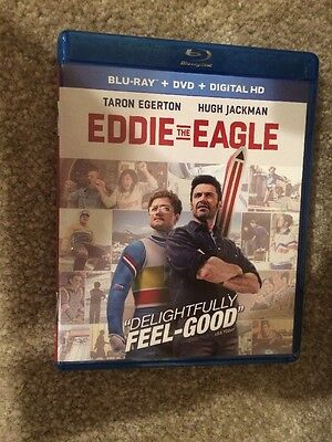 Eddie The Eagle Bluray 1 Disc Set ( No digital HD)