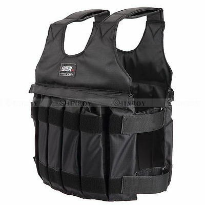 Exercise Training Fitne 50KG Max Loading Adjustable Workout Weight Weighted Vest