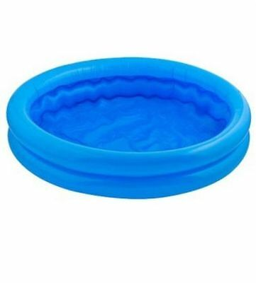 Mini Paddling Pool Toddler Kids Ball Pit 2 Ring Inflatable Swimming Kids Outdoor
