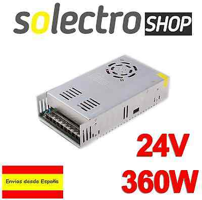 Fuente de alimentación 24V 15A 360W Impresora 3D Switching Power Supply I0016