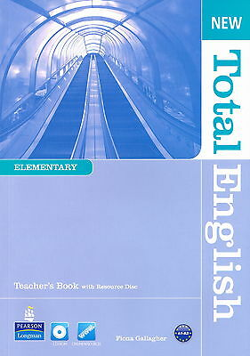 Longman NEW TOTAL ENGLISH Elementary Teacher's Book with Resource Disc @NEW@