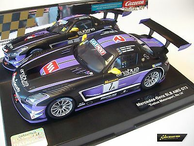"Carrera Digital 124 Mercedes Benz SLS AMG GT3 ""Erebus Motorsport, No.1 A"" 23812"
