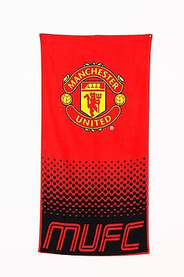Manchester United FC Towel Fade Design