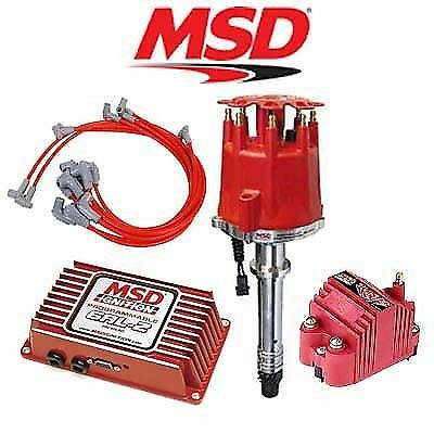msd ignition complete kit digital 6al distributor wires coil msd ignition kit programmable 6al 2 distributor wires coil chevy small